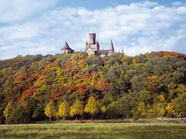 Marienburg im Herbst