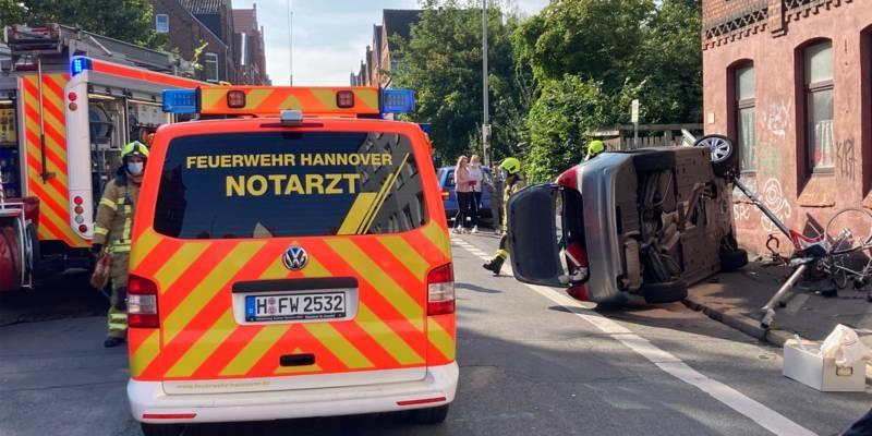 Notarztauto der Feuerwehr Hannover