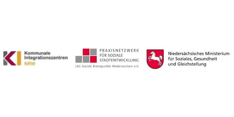 Drei Logos nebeneinander