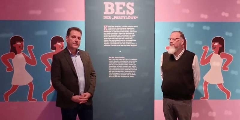 Ausstellung: Guter Dämon Bes. Schutzgott der Ägypter