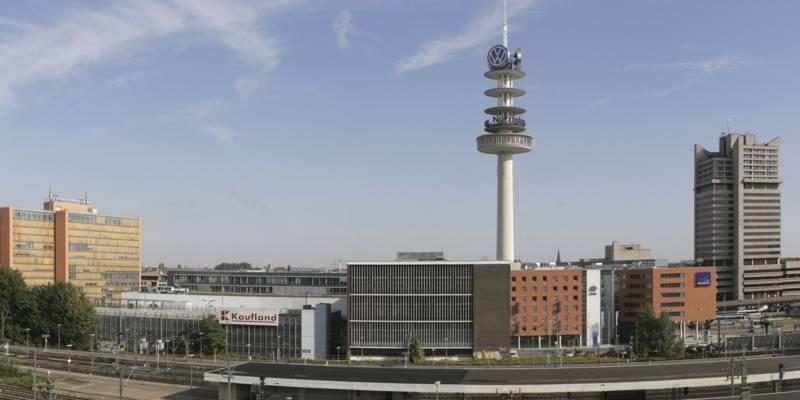 Blick vom Dach des Ernst-August-Carree