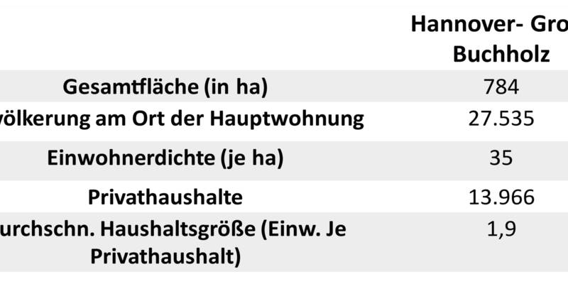 Strukturdaten Groß-Buchholz