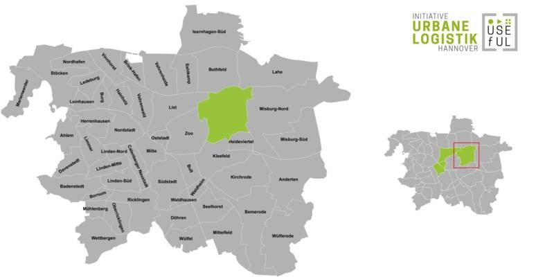 Übersicht der Strukturdaten des Stadtteils Hannover-Groß-Buchholz