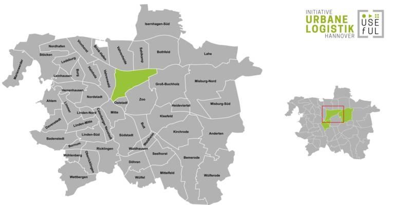 Übersicht der Strukturdaten des Stadtteils Hannover-List