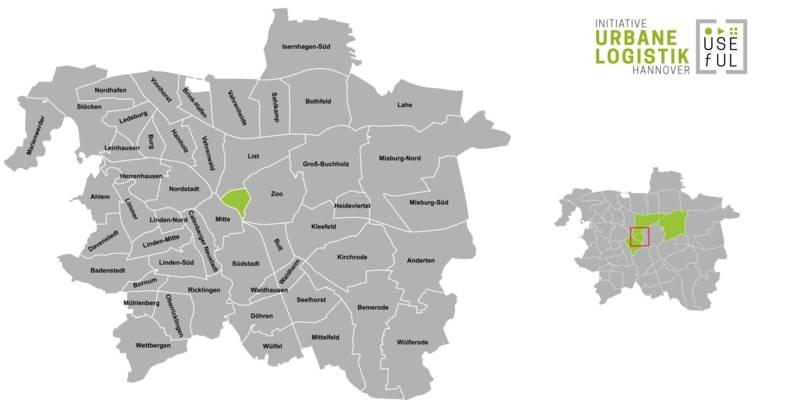 Übersicht der Strukturdaten des Stadtteils Hannover-Oststadt