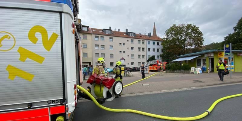 Ein Fahrzeug der Feuerwehr Hannover