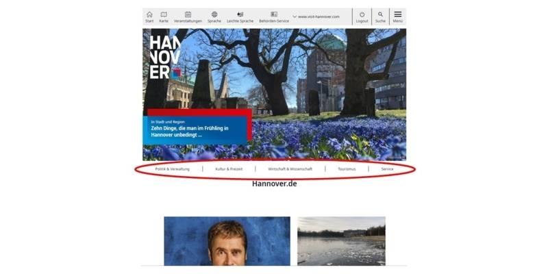 Themenwelten von Hannover.de