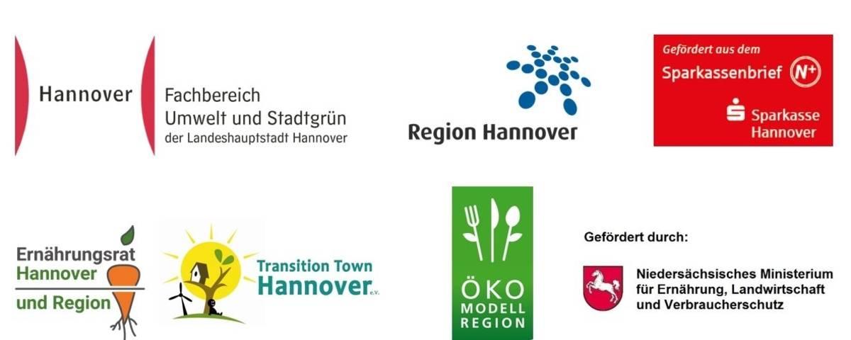 Logos verschiedener Institutionen.