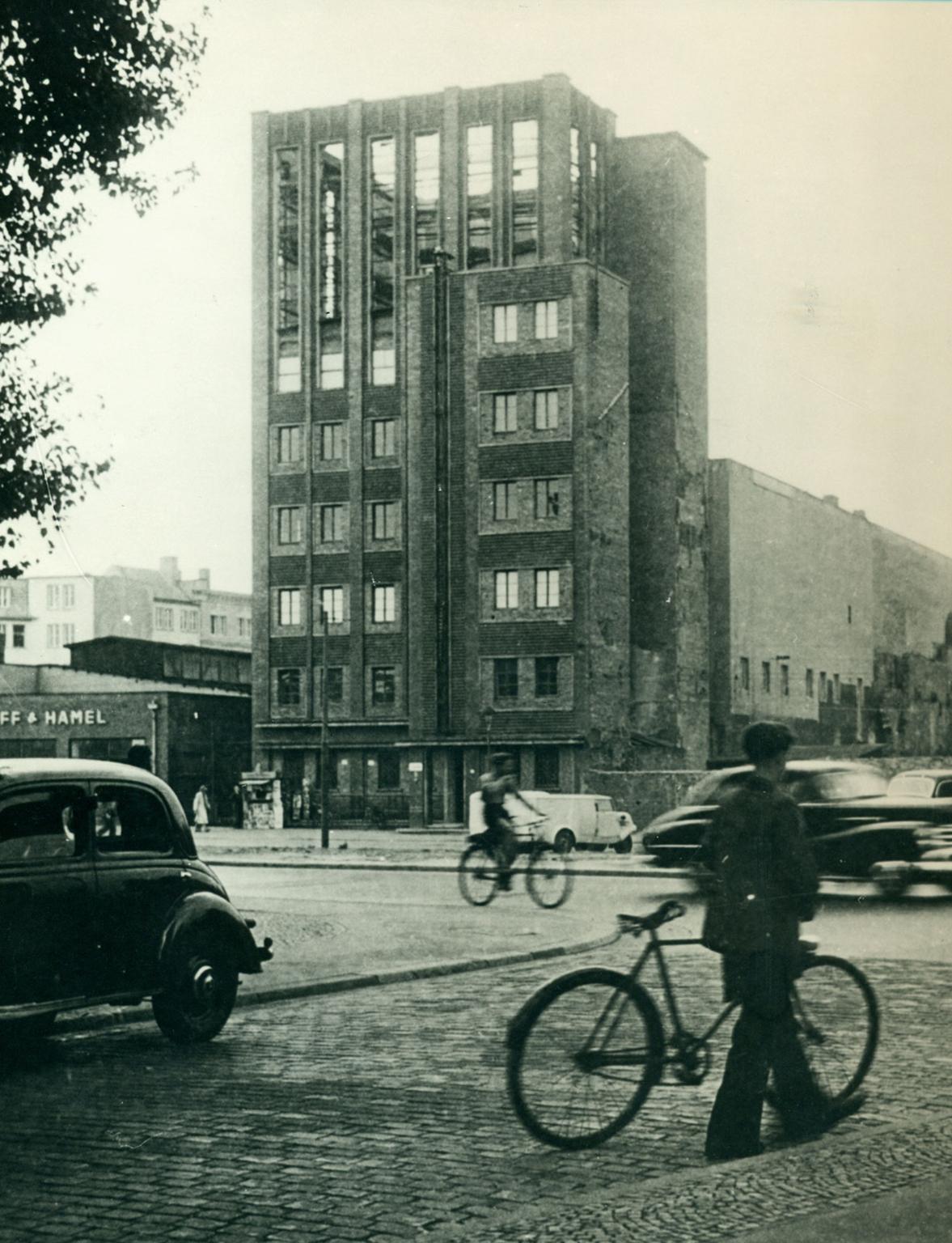 Die Stadtbibliothek im Jahr 1943
