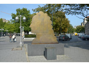 Monument of Leibniz