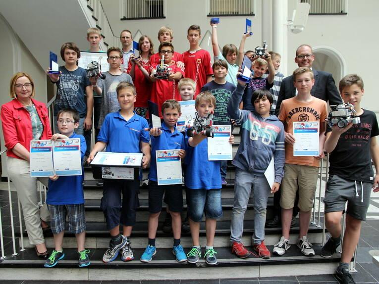 Robertachallenge 2015 ii pressetermine bilder region for Pokale hannover