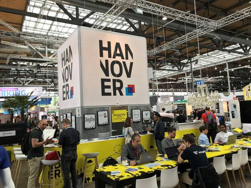 HANNOVER Stand Pano