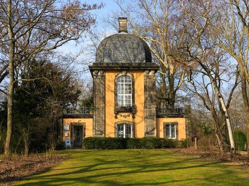 E5 Kuchengarten Pavillion Architekturpfad Hannover Rundgange