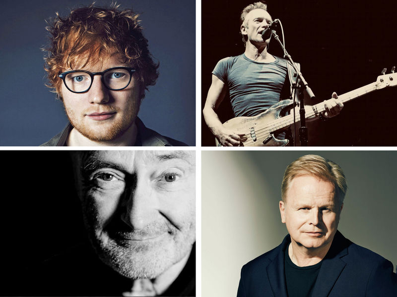 Ed Sheeran / Sting / Phil Collins / Herbert Grönemeyer