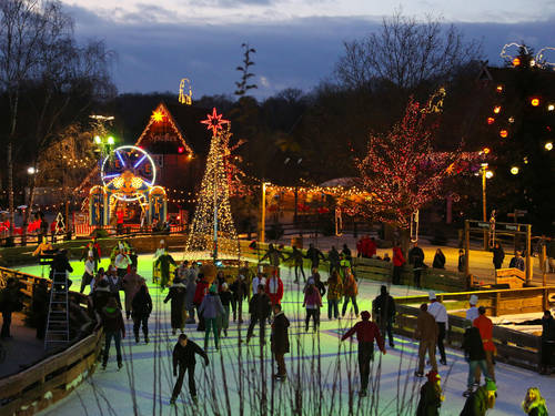 The Zoo-Hannover transformed into a winter-wonderland