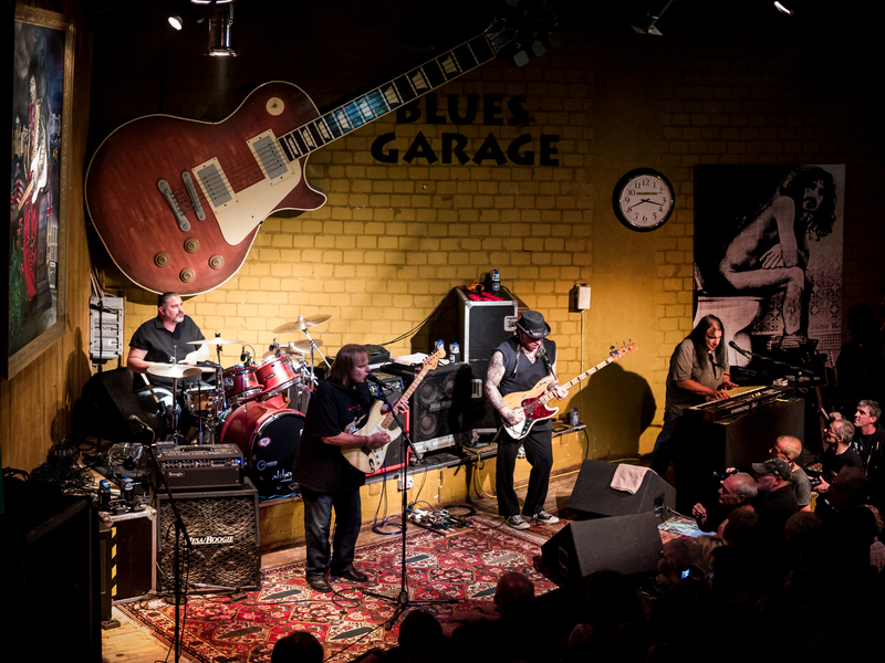 Volles Programm in der Bluesgarage
