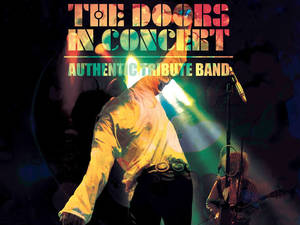 Plakat von The Doors in Concert Tribute Band