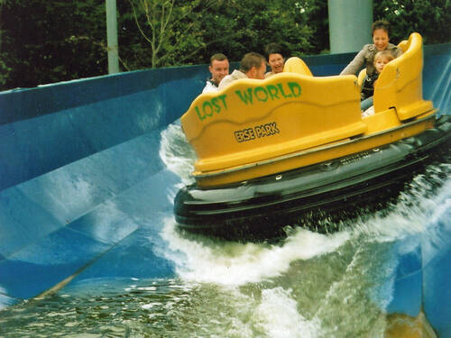 Lost World Spinning Rafting im Erse Park