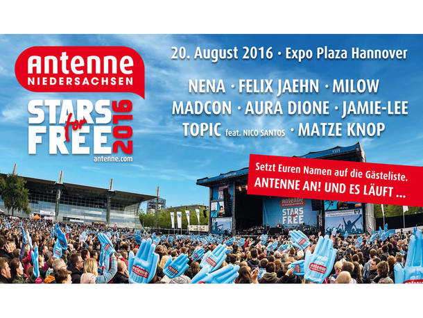 Stars For Free 2019 Hannover