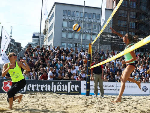 Beachvolleyball Cup