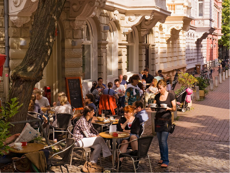 Hannover Cafe Maschsee