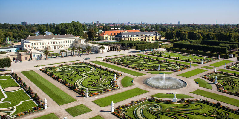 Great Garden with Castle of Herrenhausen