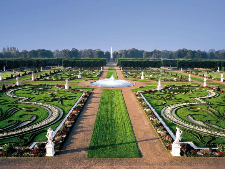 Großer Garten Impressionen Aus Den Herrenhäuser Gärten Galerien