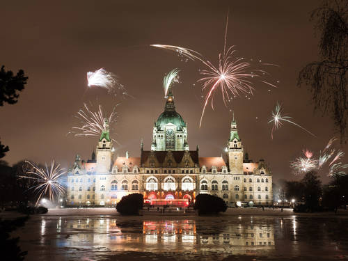 Neues Rathaus (Silvester)