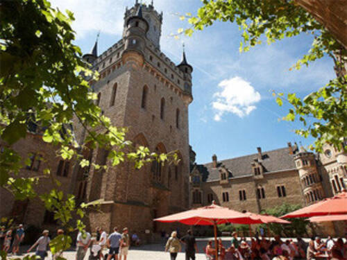 Inner Yard of Marienburg Castle