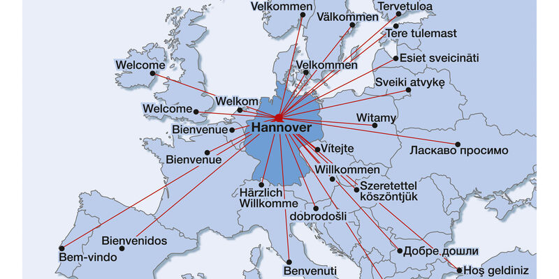 Hannover - in the heart of Europe