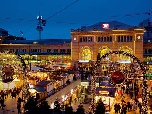 Christmas Markets around the main station