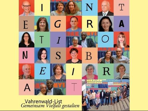 Logo des Integrationsbeirates Vahrenwald-List.