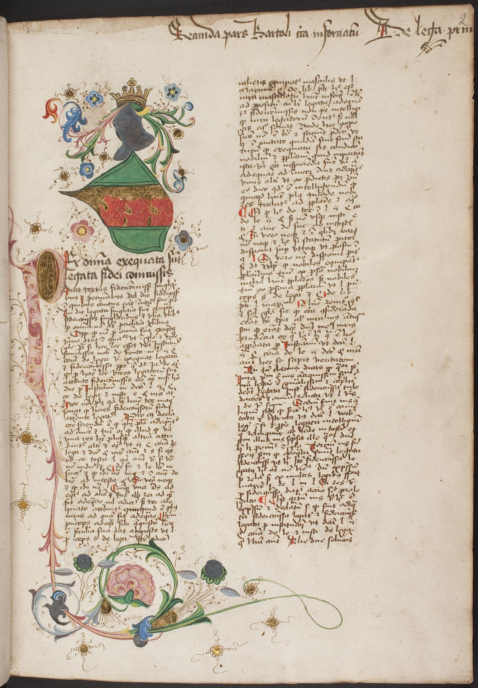 Handschrift: Ms. Mag. 35, fol. 2r