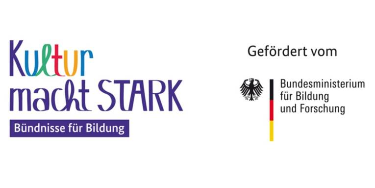 Logo : Kultur macht Stark | KSB | Stadtbibliothek | Bildung