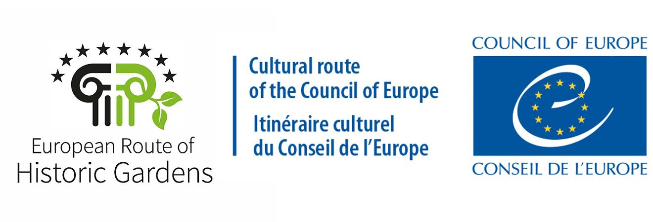 Logo European Route of Historic Gardens