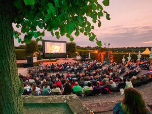 Open-Air-Kino im Gartentheater