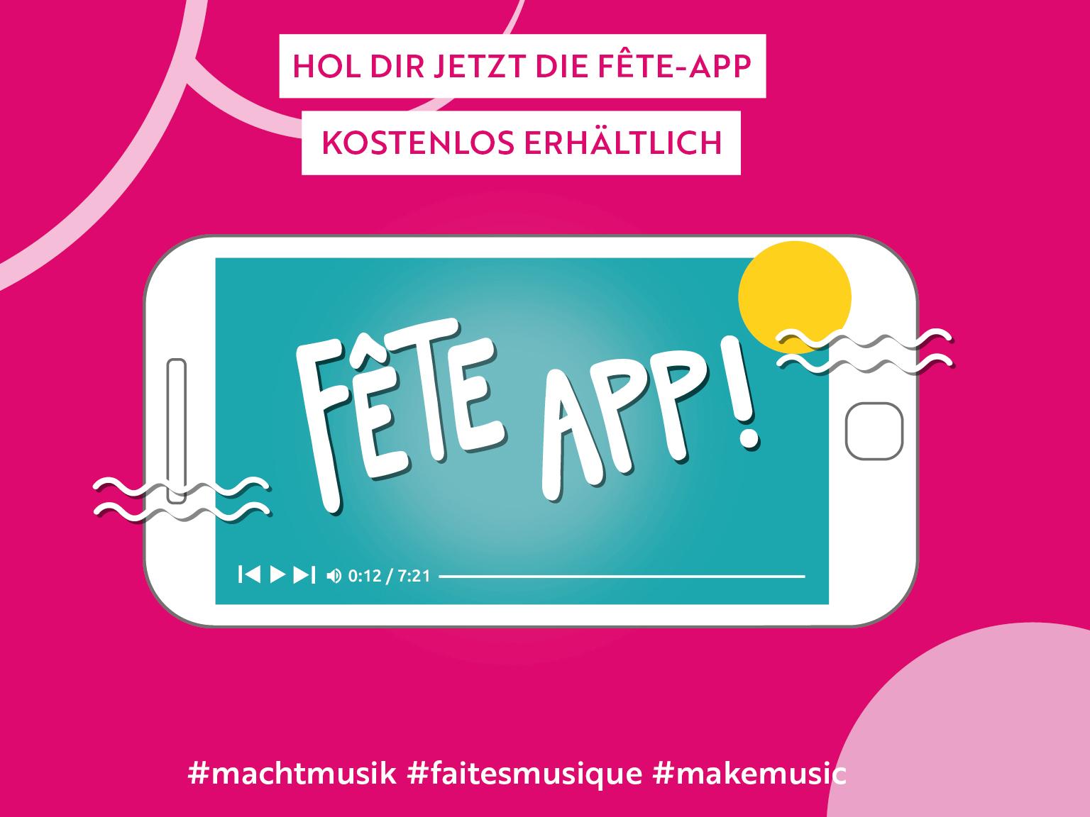 Fête-App 2020 - mal anders!