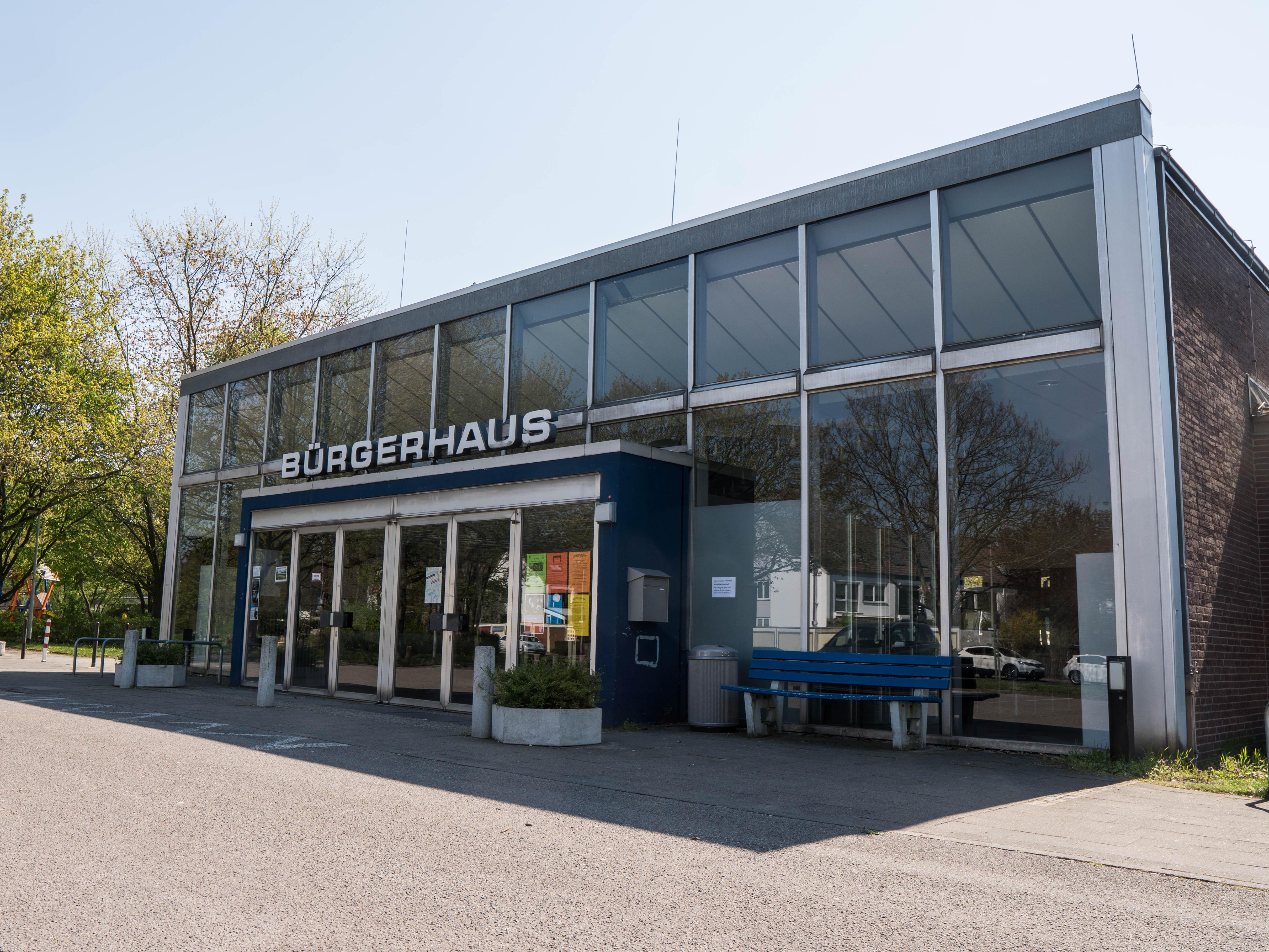 Eingang Bürgerhaus Misburg