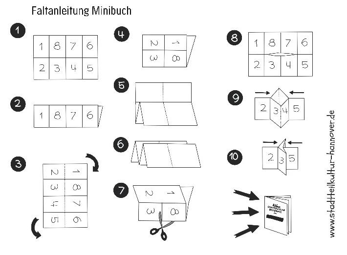 Anleitung Faltbuch