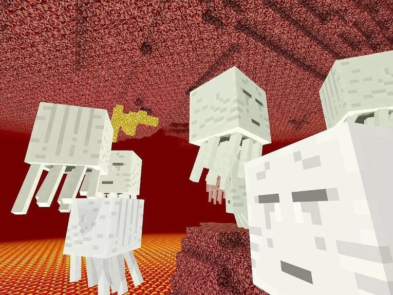 Minecraft Ghosts