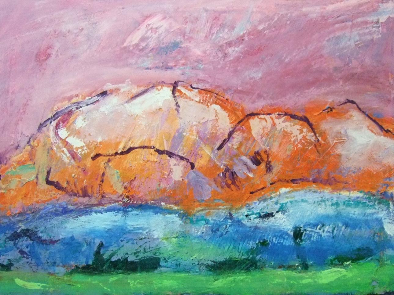 R.F. Myller: Berglandschaft