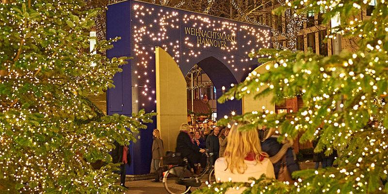 Hannover Weihnachtsmarkt.Weihnachtsmarkt Hannover Weihnachten