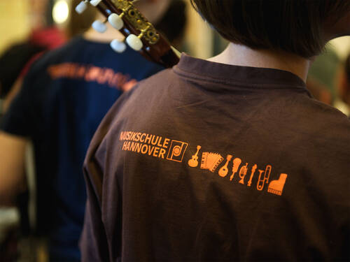 T-Shirt Musikschule Hannover