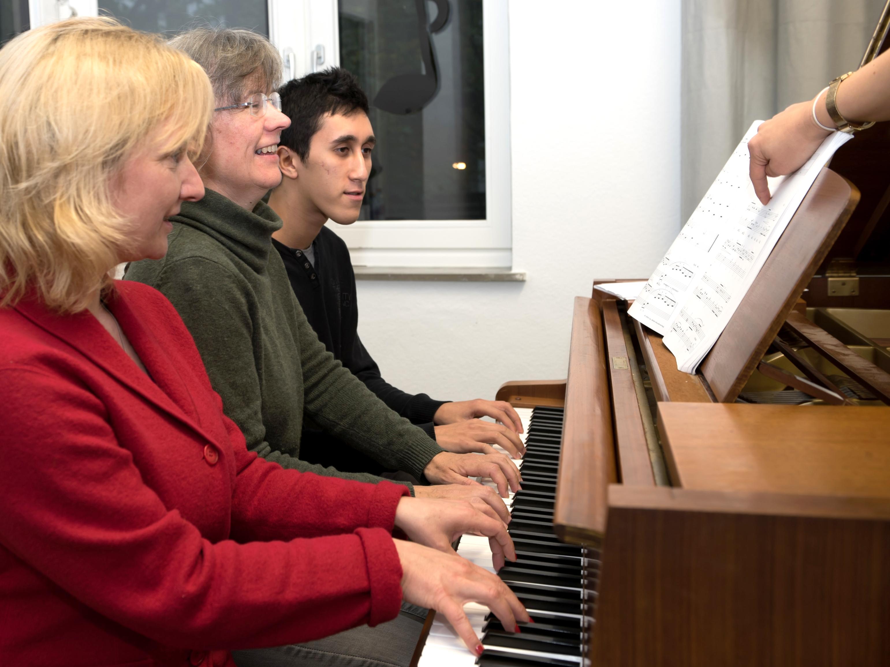 """Instrumentalunterricht """"GruppePlus"""""""