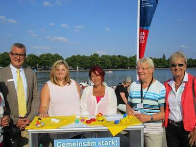 3. Special Olympics Landesspiele. Familienempfang