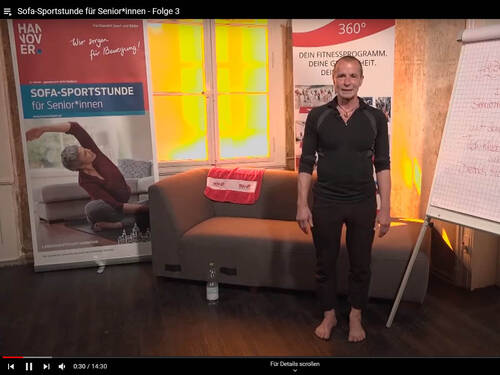Sofa-Sportstunde (YouTube)