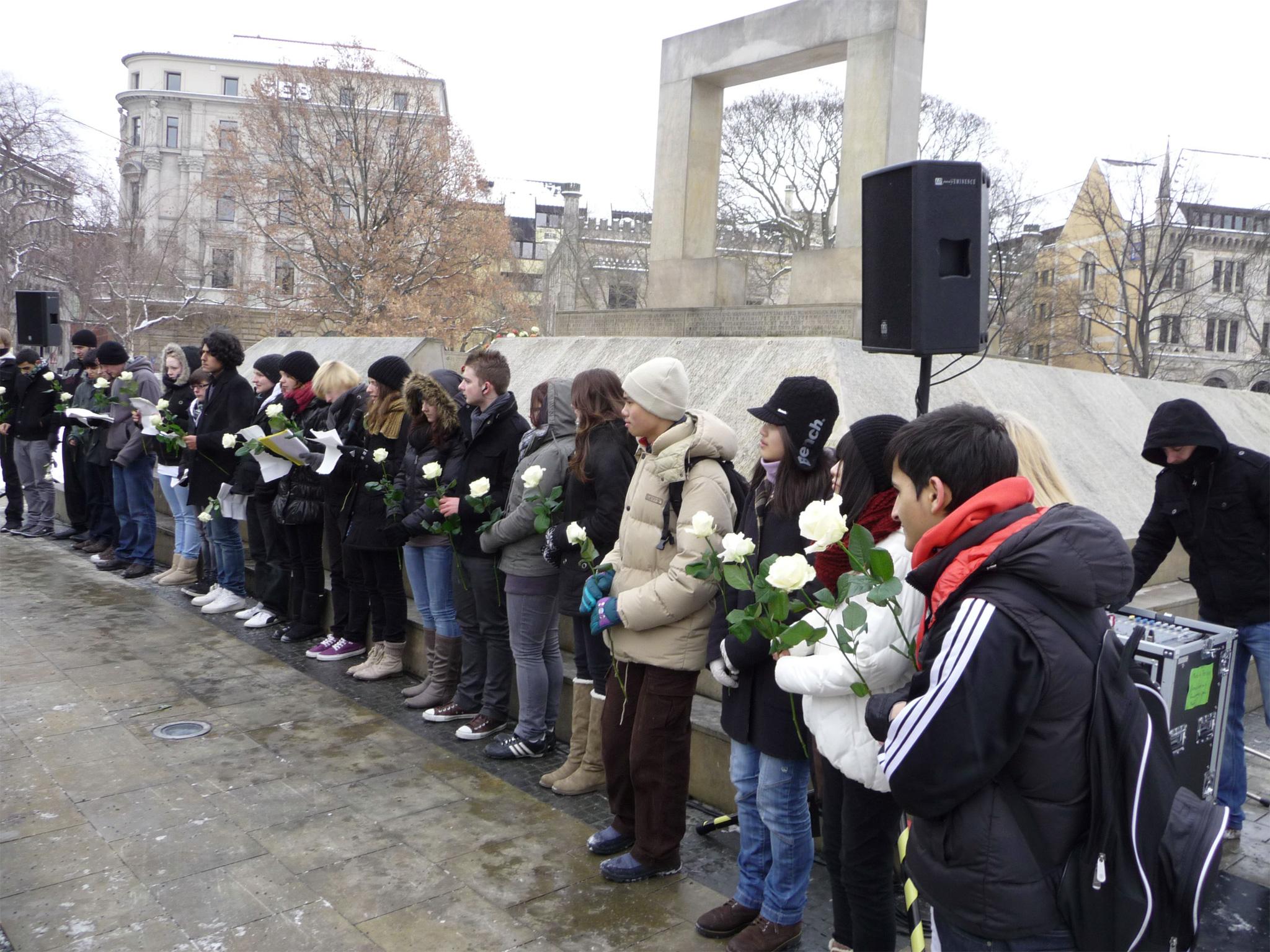 Schülerinnen und Schüler im Dezember 2010