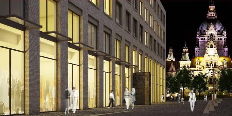 Planungsansicht rathauskontor lernort st dtische - Rtw architekten ...