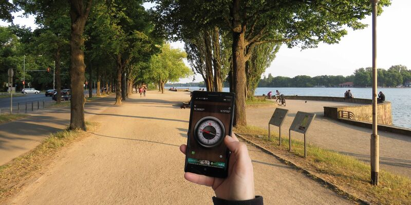 "Geocache-Tour ""Lake Side Secrets"" am Maschsee"