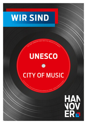 "Plakat ""Hannover ist City of Music"""